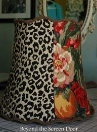 Curvy Lamp Shade ~ U