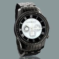 #Mens #Black #Diamon