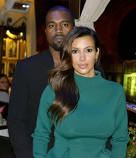 Kim Kardashian Pregnant with Kanye West's Child