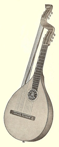 12 string bass lute