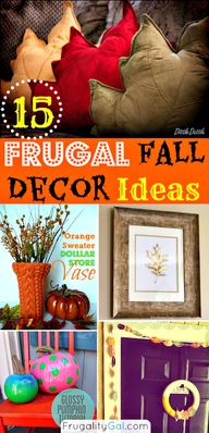 Awesome frugal ideas