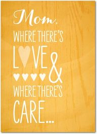 Where There's Mom -