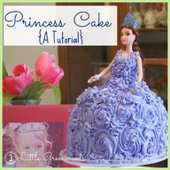 DIY princess cake tu