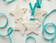 Embossed clay star d