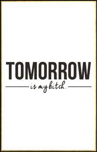 Tomorrow might be Mo