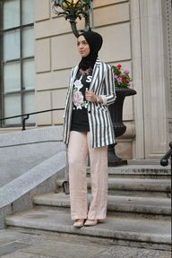 zara blazer and pant