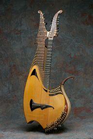 Fred Carlson Harp Guitar