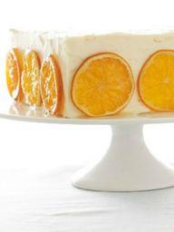 Orange Honey Cake wi