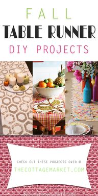 Fall Table Runner DI