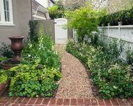 A Serene Garden Retr