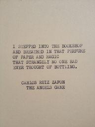 THE ANGELS GAME Carl