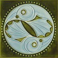 Art Nouveau Tile, Go