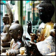 Buddha's on display