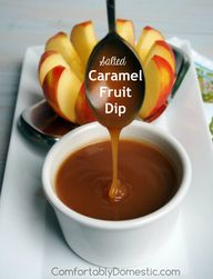 Salted Caramel Fruit