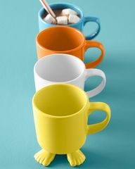 Footed Ceramic Mug a