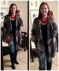 Tribal Open Cardigan...