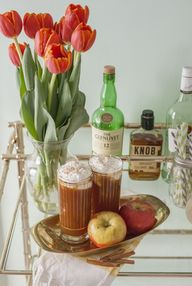 Spiked apple cider a