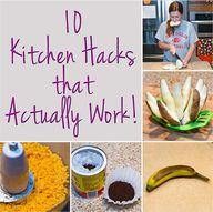 10 Kitchen Hacks tha