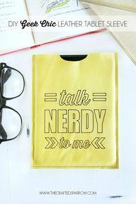 DIY Geek Chic Leathe