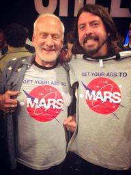 Buzz Aldrin and Dave