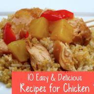 10 Easy & Delicious