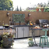 Outdoor kitchen by S