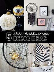 5 DIY Chic Halloween