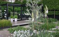 The garden designed