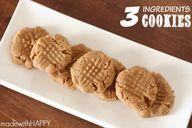 3 Ingredients cookie