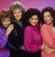 Most Popular TV Shows 1980S | Popular 1980s TV show, Designing Women displays 80s color trends