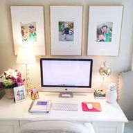 Cute office. Love th