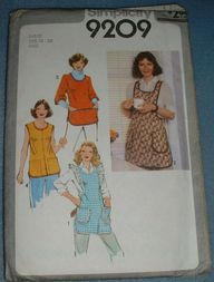 Simplicity Smock Apron Patterns - Hobbies & Crafts - Compare