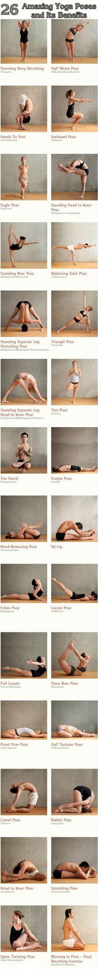 Amazing yoga poses a