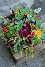 Gorgeous fall floral