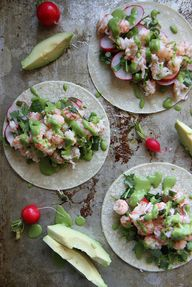 Lobster Tacos with C