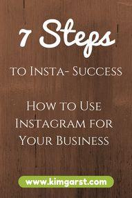 7 Steps to Insta-Suc