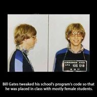 Cheeky Bill Gates!