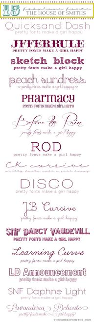 15 fabulous fonts fr