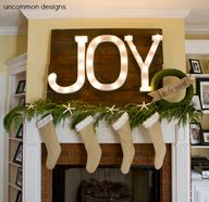 Burlap Stocking DIY