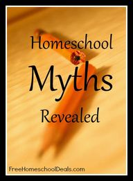 Homeschool Myths Rev