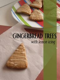 Gingerbread Trees wi