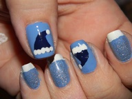 Hanukkah Harry nails