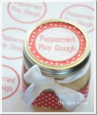 Peppermint Playdough