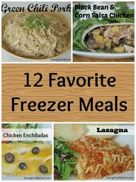 12 Favorite Freezer