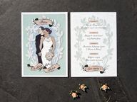 Custom portrait wedd