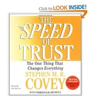The SPEED of Trust: