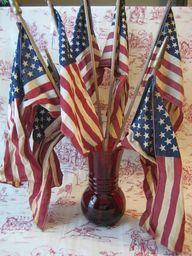 Vintage American Fla...