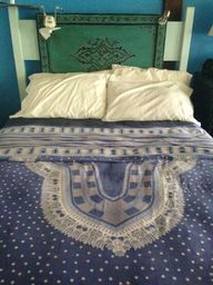 My bed at Blue Osa i