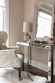 Glam bedroom vanity...