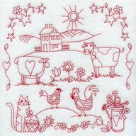 Country Sampler (Red...